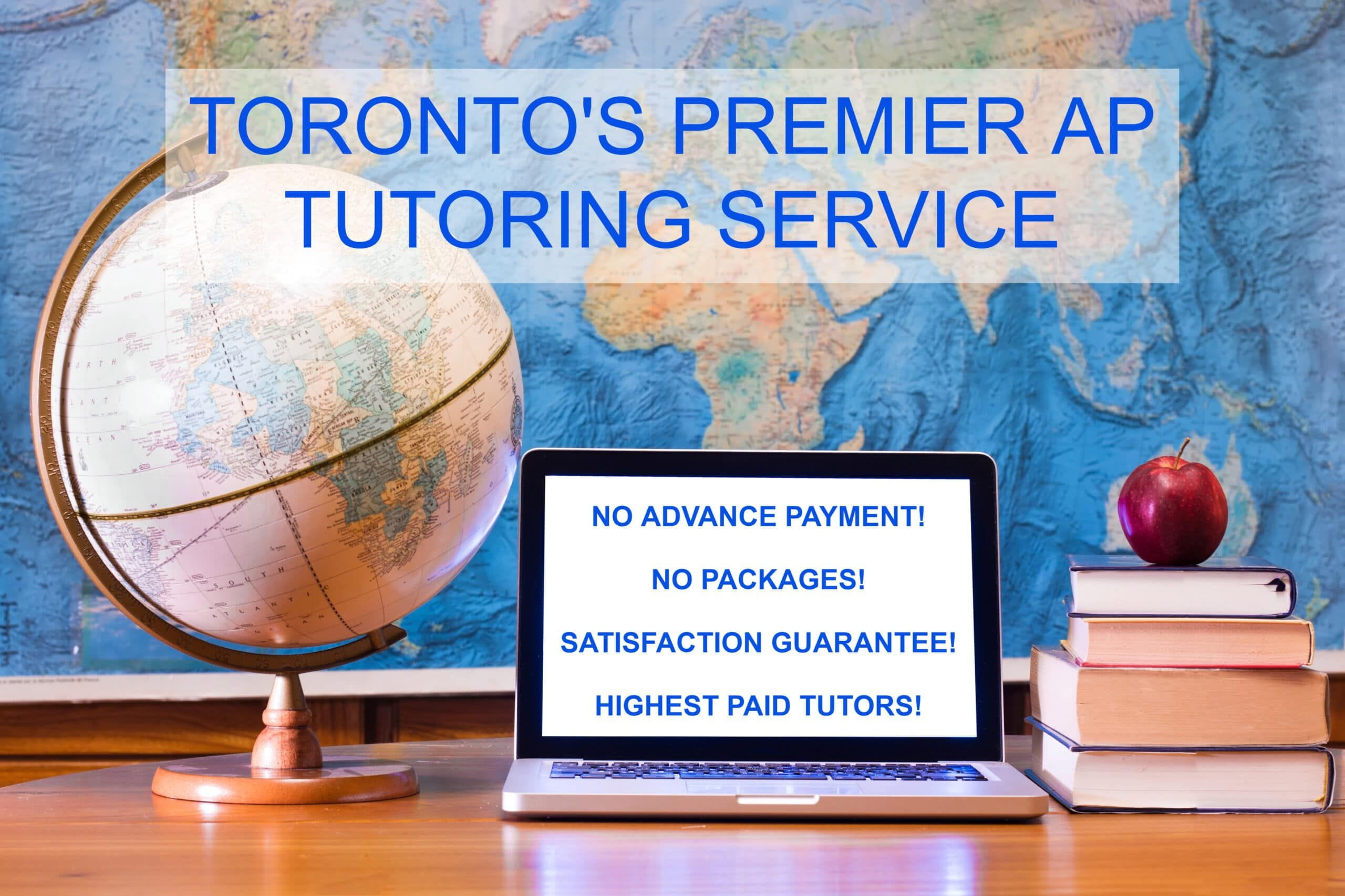 AP calculus and ap english and ap chemistry tutoring in toronto with hack your course