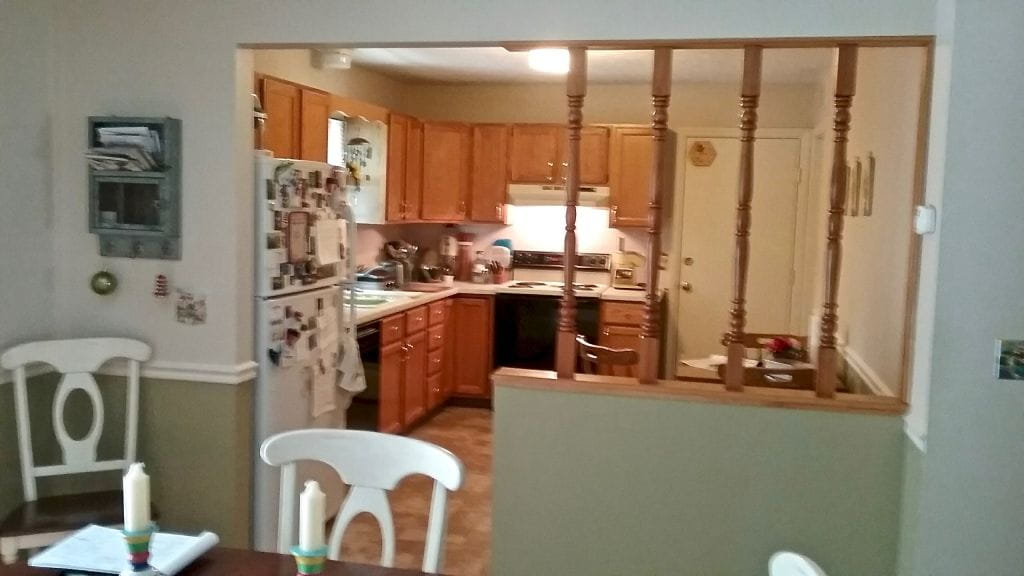 kitchen cabinets before remodeling