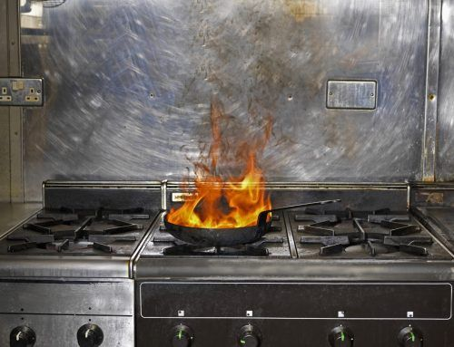 Preparing for a Kitchen Fire