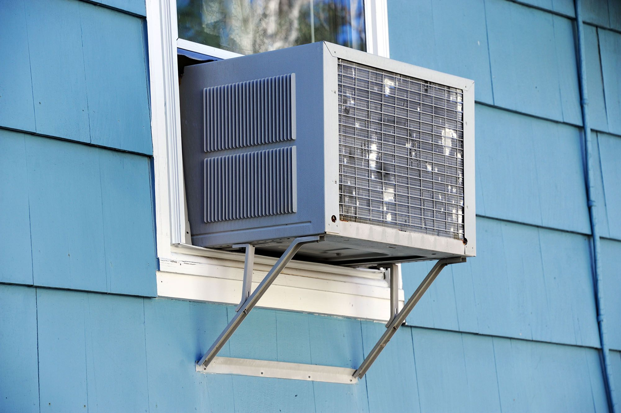Window Air Conditioning Unit Ductless Mini-Split Central System Options