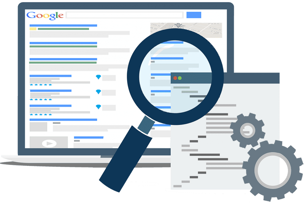 Search engine optimization Screen
