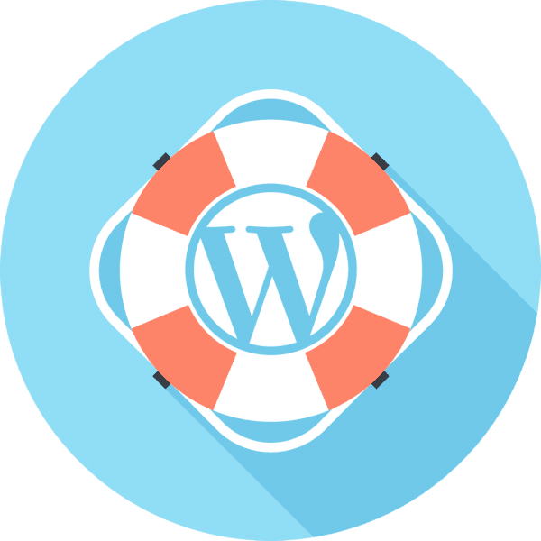 Wordpress support icon