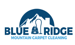 Blue ridge mountain carpet cleaning company logo