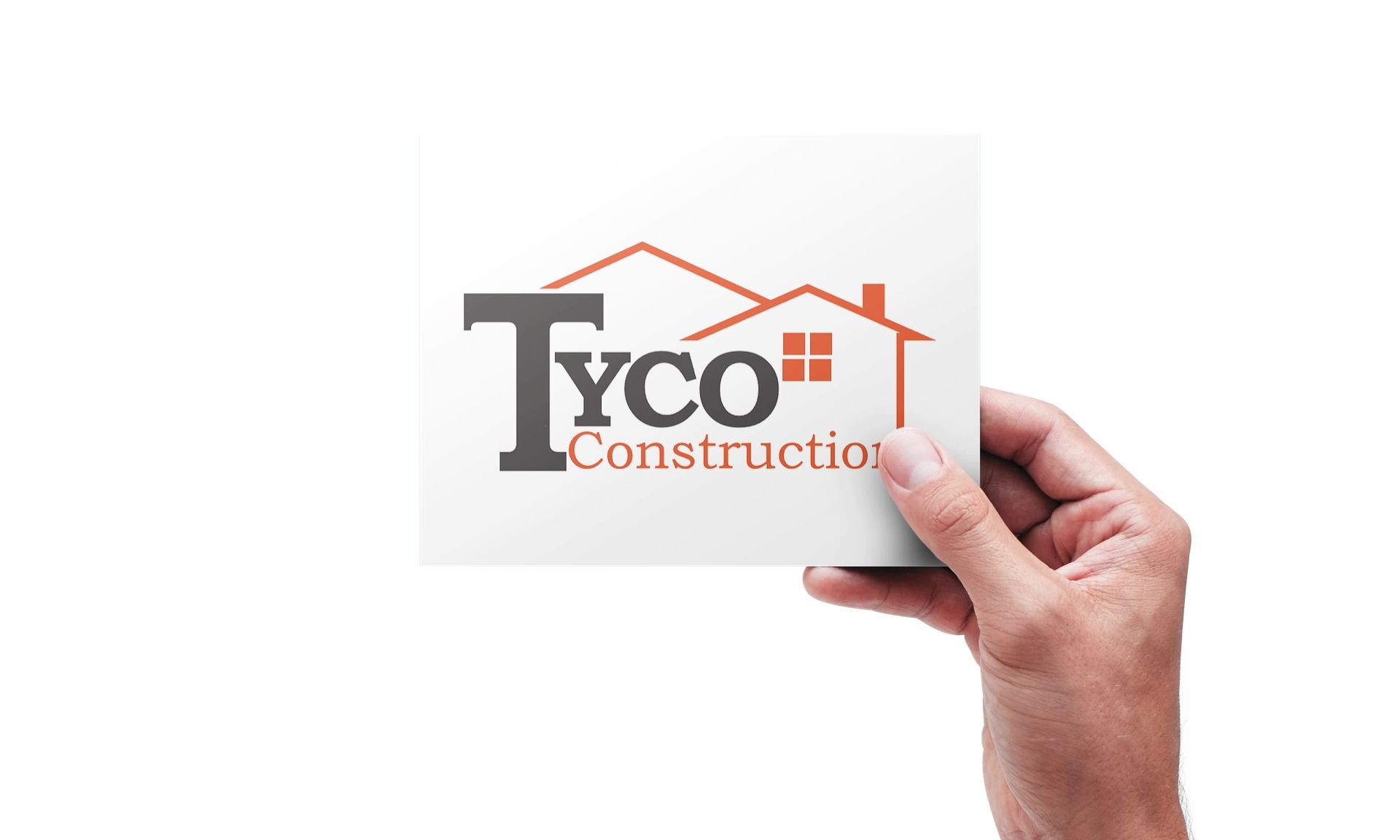 Tyco Construction logo on the board
