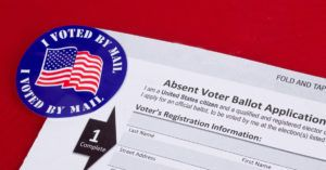 Absent vote ballot application form
