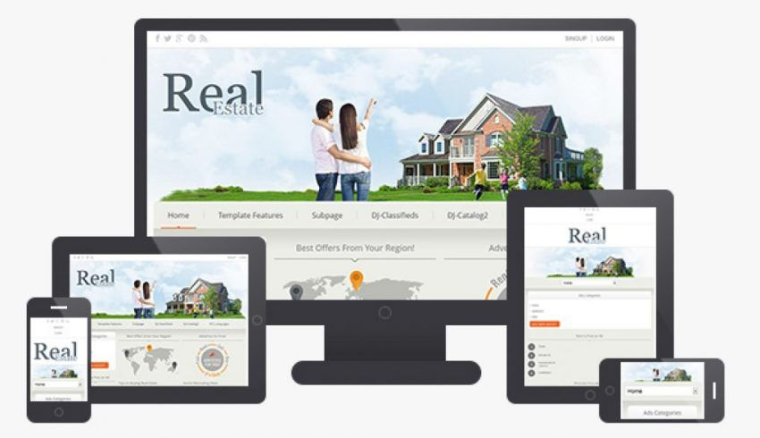 Real Estate Website Design Development