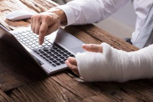 injured person searching for a car accident lawyer
