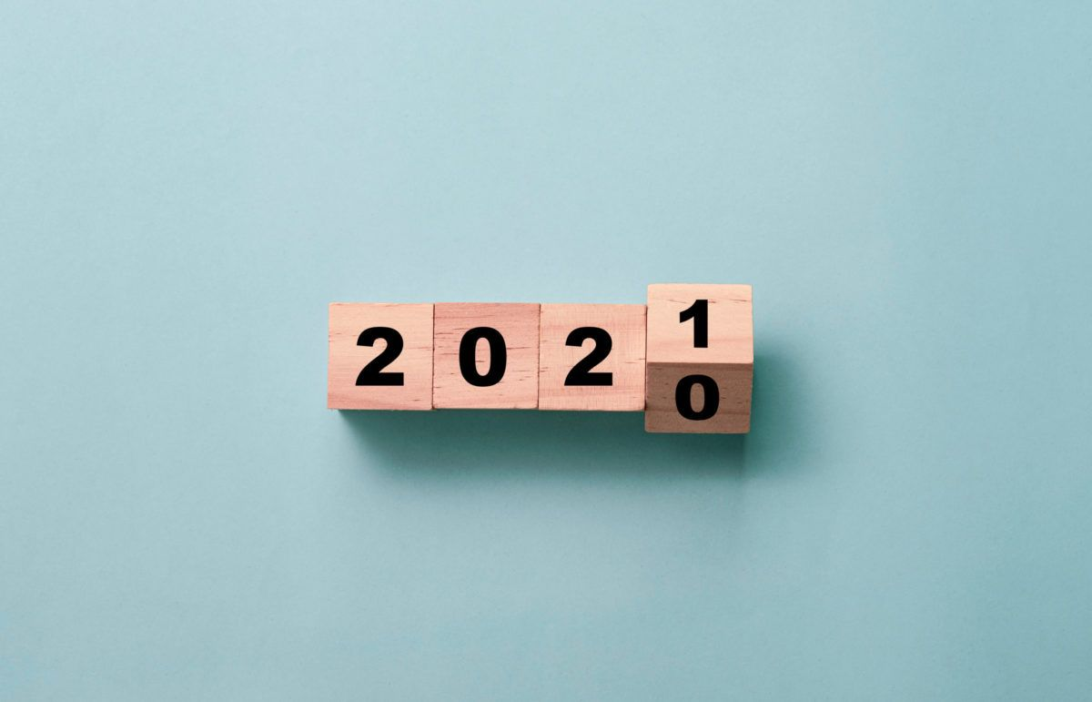 2020 changing to 2021