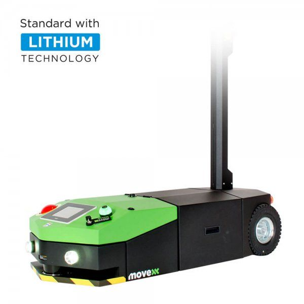 AGV2500 automated guided vehicle electric tug lithium