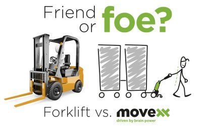 Forklift, friend or foe?