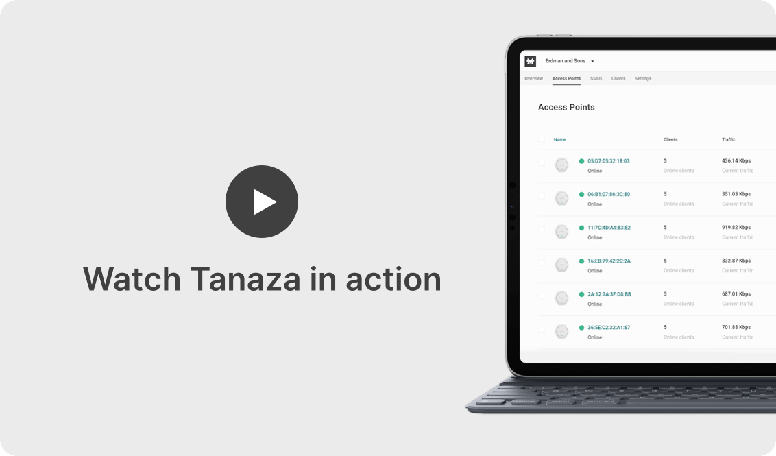 watch tanaza in action