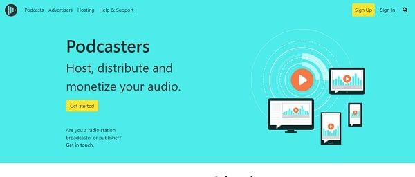 Audioboom podcast platform