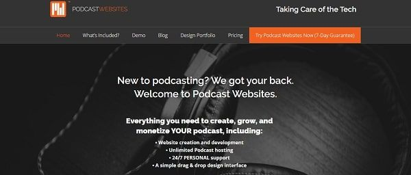 Podcast websites
