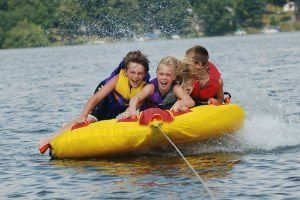 Our boating accident lawyers report on the Long Island Sound Water tube accident that injured two teens.