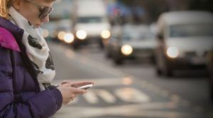 Our pedestrian accident lawyers in New York look reports on distracted pedestrian accidents.