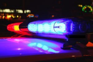 Driver pulled over for drunk driving on Long Island.