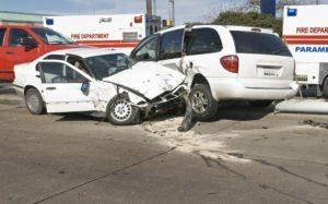 Driverless Vehicle Car Accident