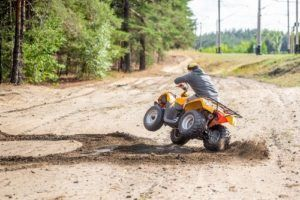 All-terrain vehicles accident