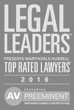 Martindale-Hubbell Top Rated Lawyers 2016