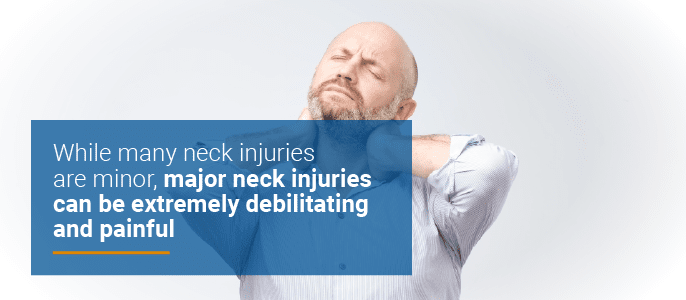 major neck injuries can be debilitating