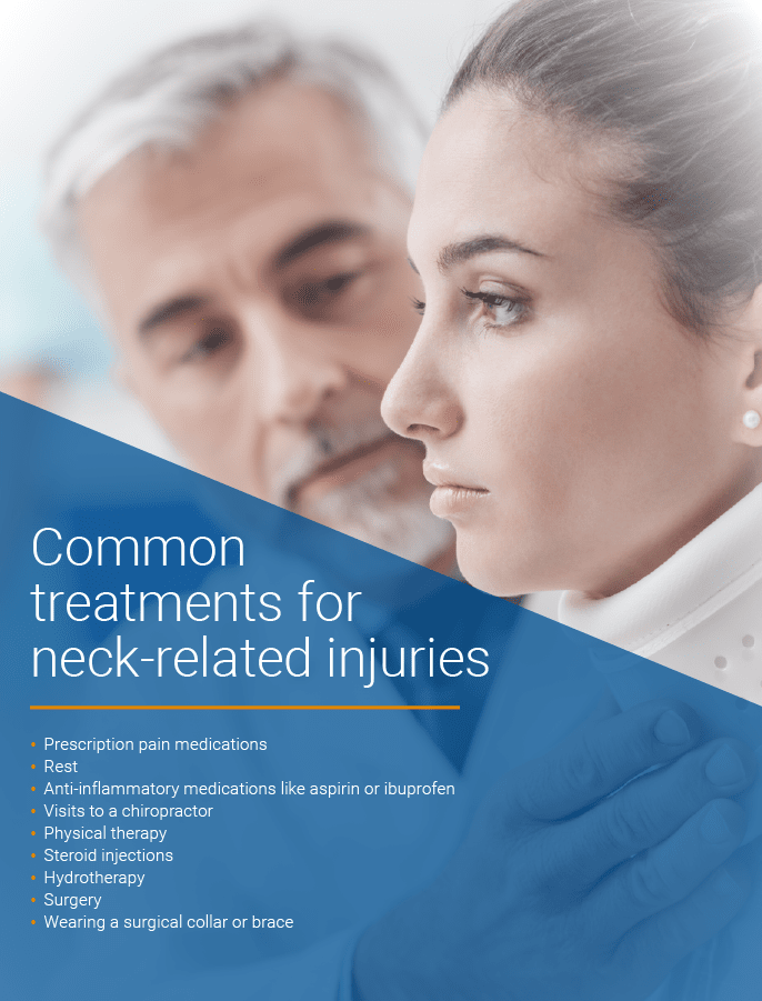 common treatments for neck injuries