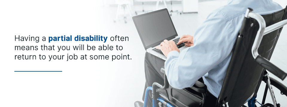 definition of partial disability