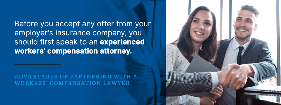 benefits of working with a workers' compensation lawyer for your back injury case