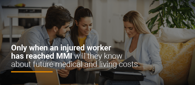 when you reach MMI, you will know future medical costs