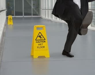 slip and fall accident at work