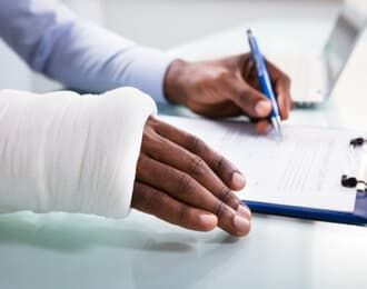 injured worker filing work injury claim