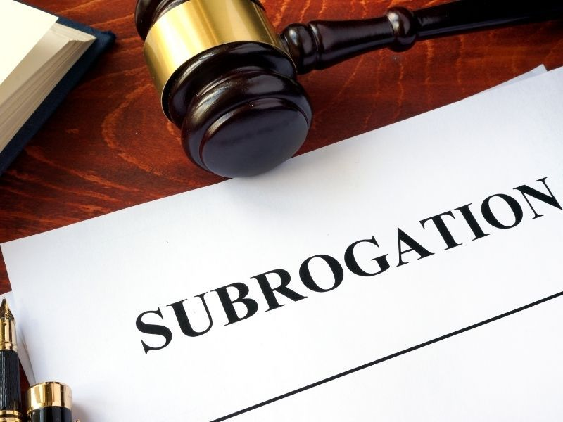 What is Subrogation in a No-fault Claim
