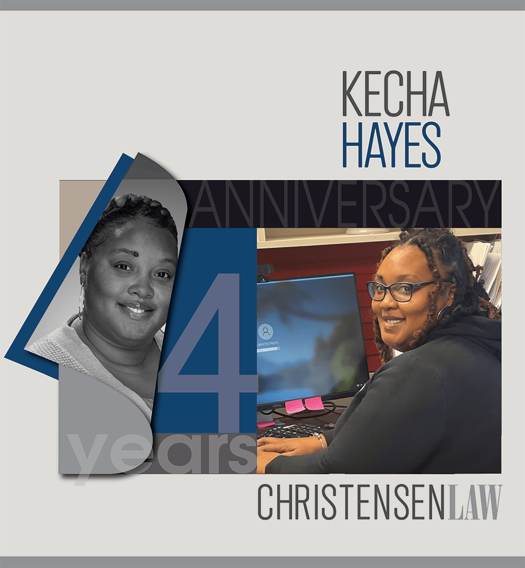Christensen Law Legal Assitant Kecha Hayes