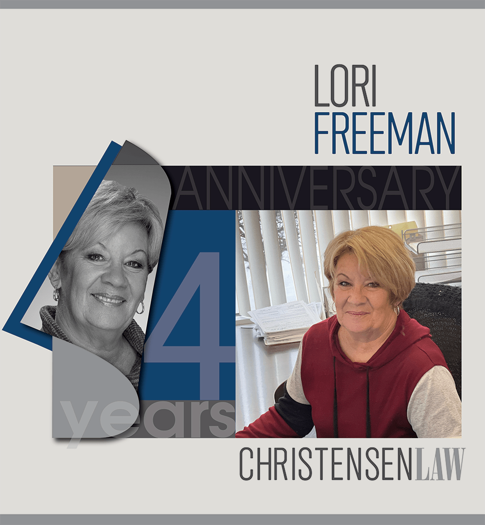 Lori Freeman Legal Assistant Christensen Law 2021