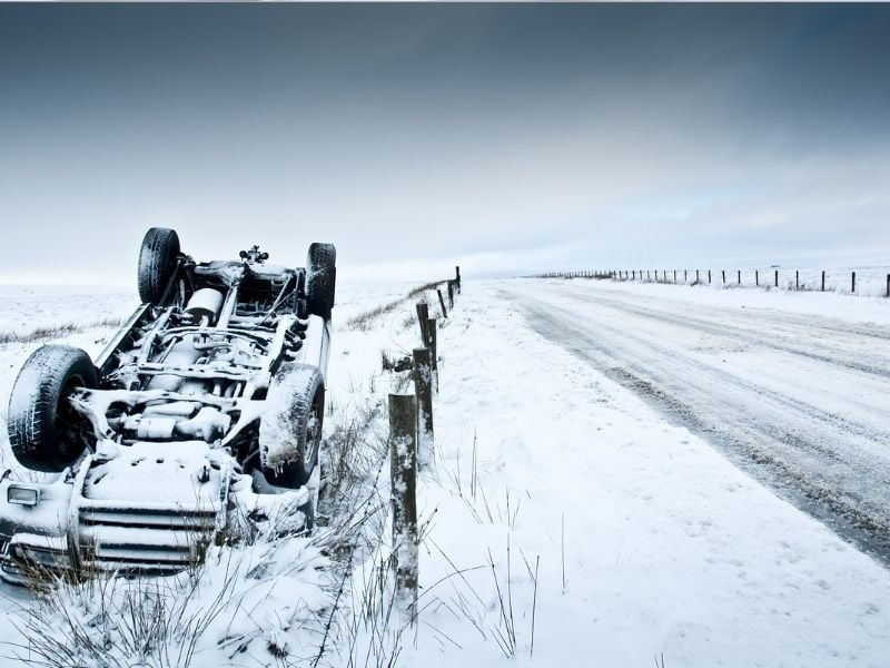 Michigan in Top 10 for Snow-Related Driving Fatalities