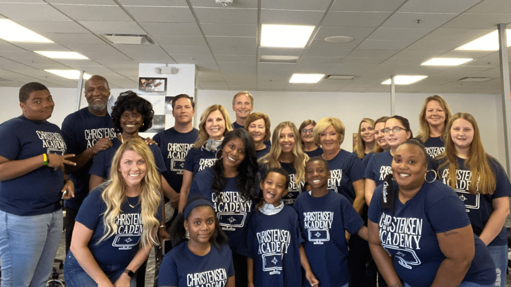 Christensen Law celebrates 1st year of in-house Academy providing continuing education for employees children during pandemic year.