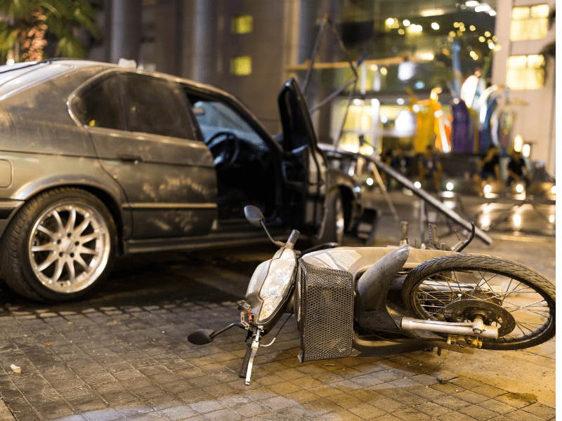 Motorcycle Hit-and-Run Accident Attorney