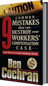 9 Common Mistakes That Can Destroy Your Workers Compensation Case and How To Avoid Making Them Icon