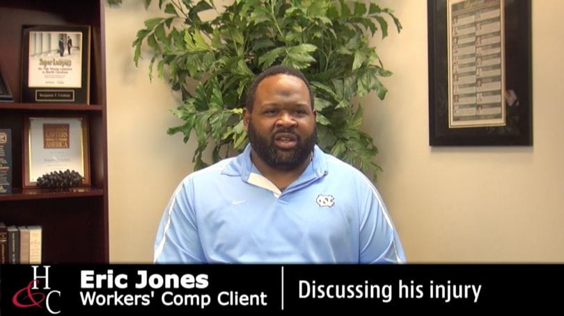 North Carolina Workers' Compensation Client Testimonial | Hardison & Cochran