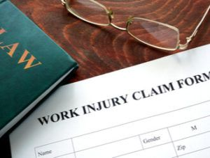 Workers compensation injury claim form