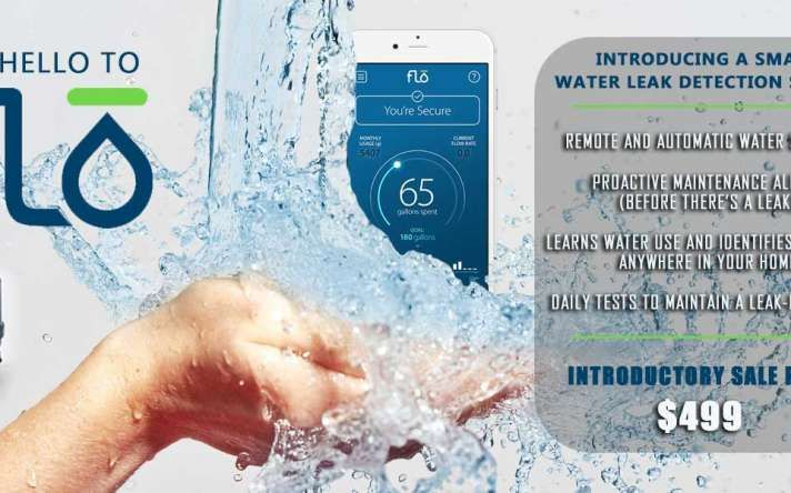 FLO Water Leak Detection System in Houston