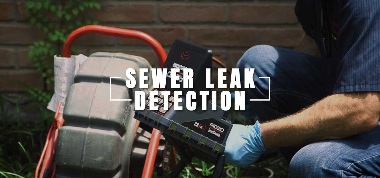 Sewer Leak Detection