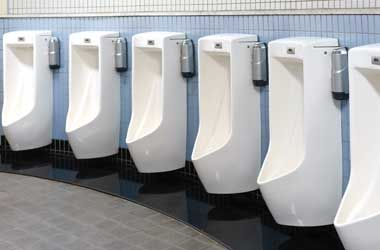 Six White Urinals in Houston