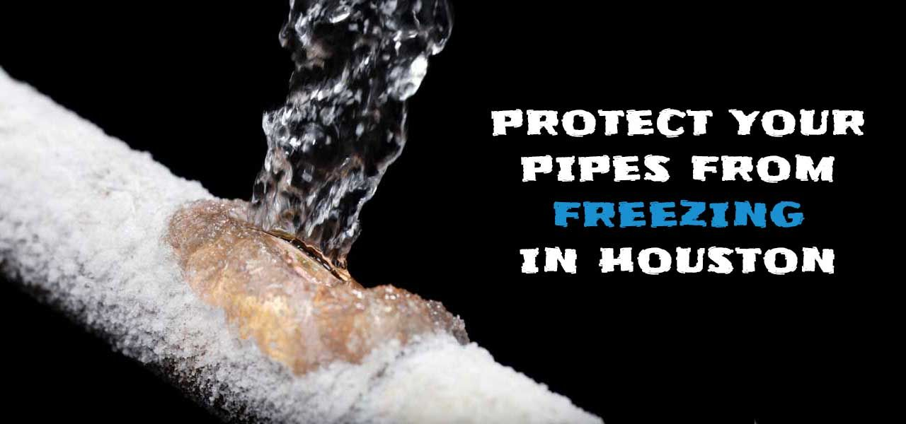 Protecting Pipes from Freezing Weather in Houston