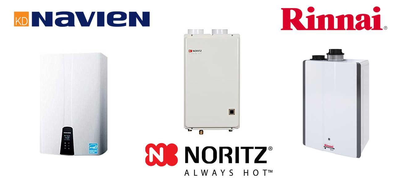 Comparing Tankless Water Heater Brands