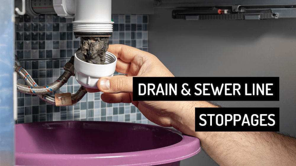 Drain & Sewer Line Stoppages Houston