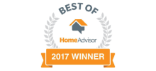 Nick's Plumbing Approved by Home Advisor