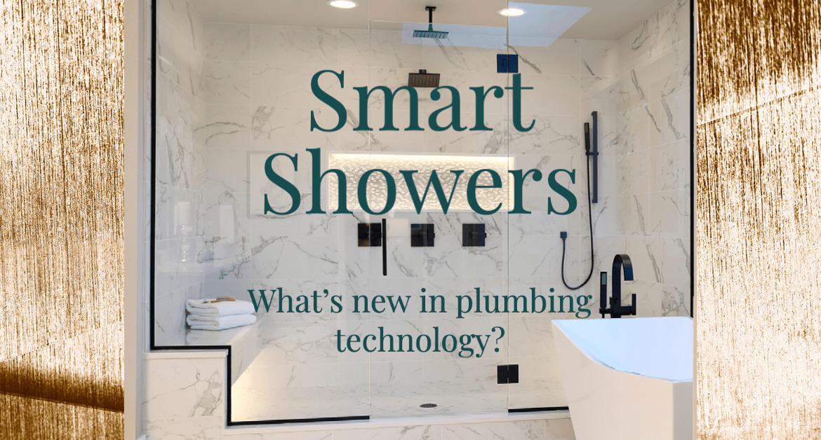 smart showers - what's new in plumbing technology