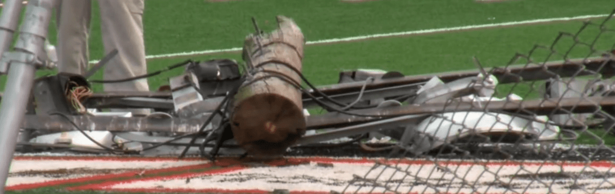arkansas school pole student referee injured can you sue a school for injury in Texas