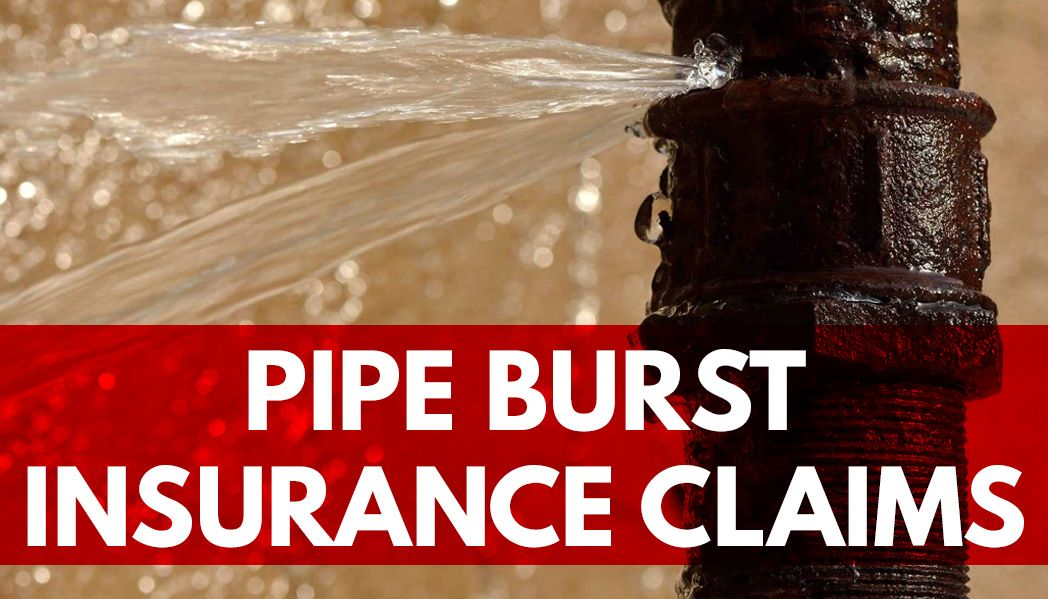 texas pipe burst insurance claims lawyer - water damage insurance claims pipe burst lawyer for insurance - frozen pipe burst claims lawyer