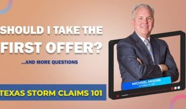 Texas Storm Questions Q&A - Taking Insurance First Offer
